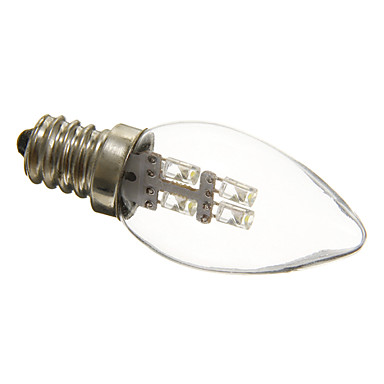 0.5W 15-20 lm E12 LED лампы в форме свечи C35 3 светодиоды Декоративная Естественный белый AC 220-240V