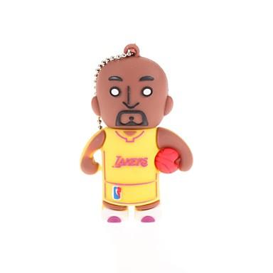 zp basketbalspeler karakter usb flash drive 16gb