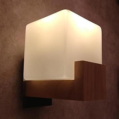 Modern / Contemporan Becuri de perete Pentru Lemn / bambus Lumina de perete 110-120V 220-240V MAX 40W