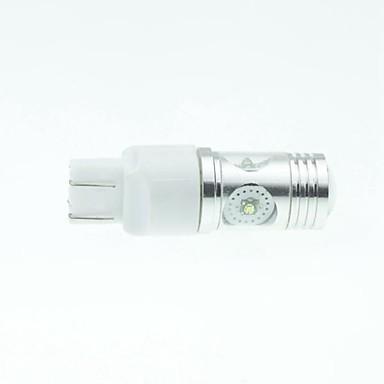 7443 W21 21W W3x16q CREE XP-e condus 20w 1300-1600lm 6500-7500k ac / DC12V-24 lumină rândul său, cu argint alb transparent