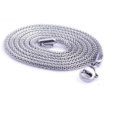 Kettingen Sieraden Slang Titanium Staal Uniek ontwerp Modieus PERSGepersonaliseerd Sieraden Voor Dagelijks Causaal Kerstcadeaus