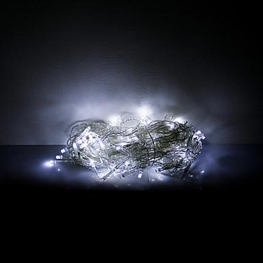 3x0.6x0.4m 100 leds halloween decoratieve verlichting feestelijke strook lichten-wit ijspegel verlichting (220v)