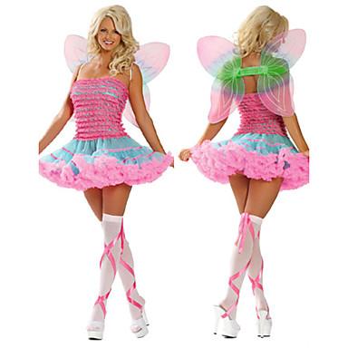 Animal DinBasme Costume Cosplay Costume petrecere Feminin Halloween Carnaval Festival/Sărbătoare Costume de Halloween Roz Îmbujorat Peteci