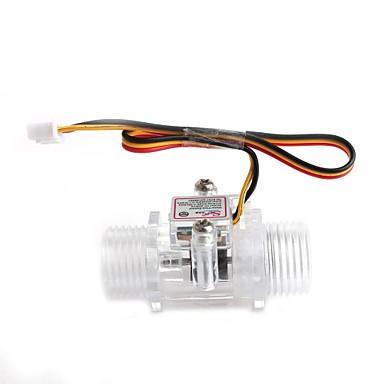 -s201c YF 1/2 inch senzor de debit de apă yuanbotong - transparent
