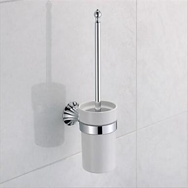 Suport Perie Toaletă / Crom Contemporan