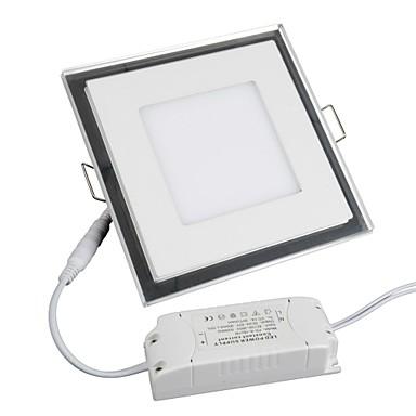 1100 lm Paneellampen 1 leds SMD 3528 Warm wit Koel wit AC 85-265V