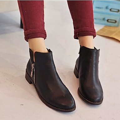 Mujer tac n bajo botas de equitaci n botas a la - Botas de trabajo ...