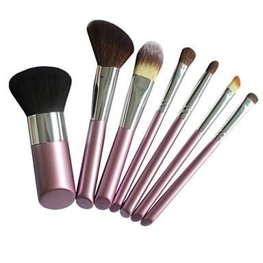 7tlg Professional Makeup Bürsten Bürsten-Satz- Nylon Pinsel Auge / Gesicht / Lippe Mittelgroße Pinsel