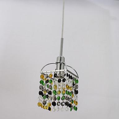 Modern/Contemporary Crystal Pendant Light Ambient Light For Living Room Bedroom Kitchen Dining Room Entry 110-120V 220-240V Bulb Not