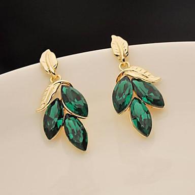 Pentru femei Elegant Pietre sintetice Leaf Shape Bijuterii Pentru