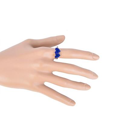 Damen Farbverläufe Emaille / Aleación Herz Bandring - Liebe / Herz Ring Für Alltag / Normal / Sport