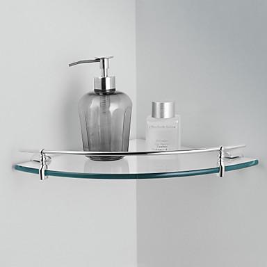 1ks Vysoká kvalita Moderní Mosaz Polička do koupelny