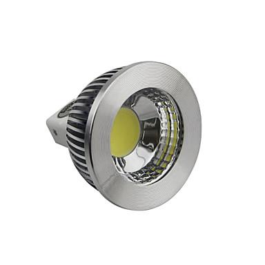 5W GU5.3(MR16) LED-spotlys 1 COB 400-450LM lm Naturlig hvid Justérbar lysstyrke Jævnstrøm 12 V