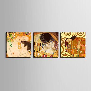 Kendt Mennesker Klassisk Moderne Traditionel, Tre Paneler Horisontal Print Vægdekor Hjem Dekoration
