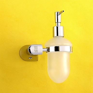 Erogatore Di Sapone Liquido Rimovibile Moderno Ottone Vetro 1 Pezzo - Bagno Dell'hotel #01943081
