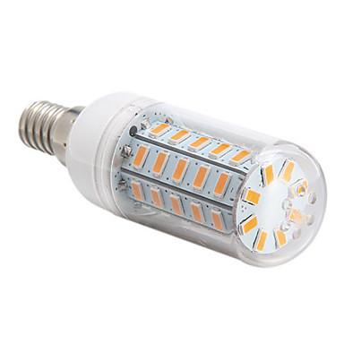 4W 360 lm E14 E26/E27 LED Mısır Işıklar 48 led SMD 5730 Sıcak Beyaz Serin Beyaz AC 220-240V