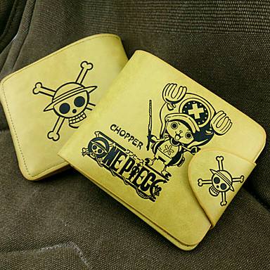 Bag Wallets Inspired by One Piece Tony Tony Chopper Anime Cosplay Accessories Wallet PU Leather Men's New