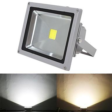5000lm LED Flutlichter 1 LED-Perlen Hochleistungs - LED Warmes Weiß Kühles Weiß 85-265V