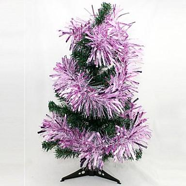 1.75m Crăciun ghirlanda bar culoare indrazneata de culori aleatorii (set de 4)