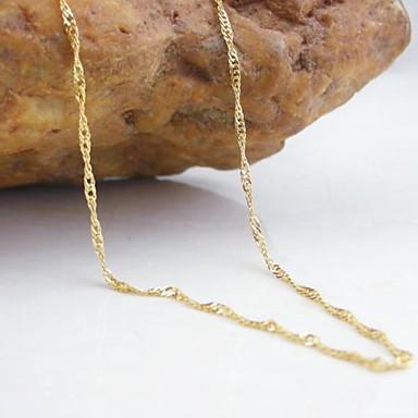 Damen Ketten - Modisch Golden Modische Halsketten Für Hochzeit / Party / Alltag
