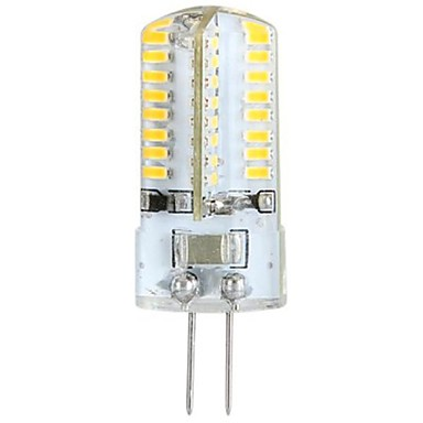 ywxlight® 3w g4 led mais lichter led bi-pin lichter 64 leds smd 3014 warmweiß 300lm 3000-3500k ac 100-240v