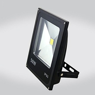 zdm 1pc 50w integrat de înaltă rezistență impermeabil ip65 ultra subțire lumina în aer liber exprimate lumina exprimate lumina (ac85-265v)