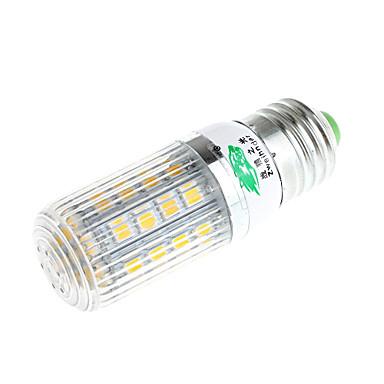 zweihnder e27 4w 400lm 3500k 36 x SMD 5050 leidde lamp warm licht maïs licht (AC 220V)