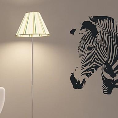 Наклейка на стену Декоративные наклейки на стены - Простые наклейки Пейзаж Животные Натюрморт Геометрия Влажная чистка