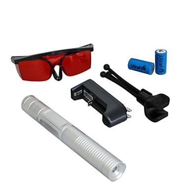 -lt 0885 ochi proteja laser pointer verde (5 mW, 532nm, 2x16340, culori asortate)