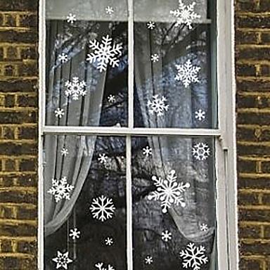 Ар деко Современный Стикер на окна, ПВХ/винил материал окно Украшение Спальня Детская Для гостиной Магазин / Кафе