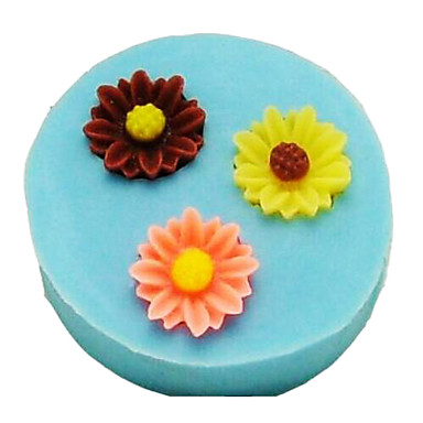 Mold Flower For Chocolate For Pie For Cake Silicone Eco-friendly DIY Thanksgiving
