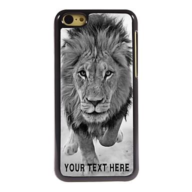 cazul în care telefonul personalizate - Lions sălbatice carcasa de metal de design pentru iPhone 5c
