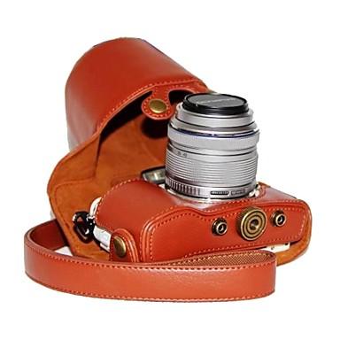 ieftine Cameră Foto, Fotografie & Video-dengpin® piele PU caz litchi aparat de fotografiat model pentru stilou e-olympus PL7 cu 17mm / 14-42mm lentile