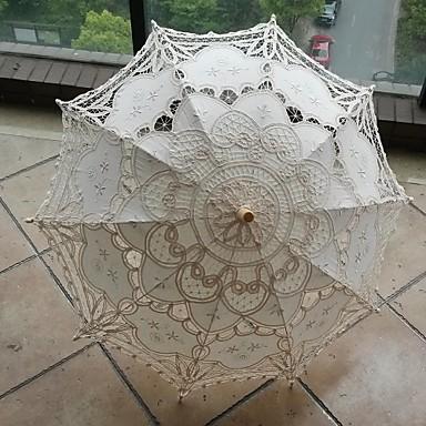 Post-Handle Material Hochzeit / Alltag / Maskerade Regenschirm Regenschirme ca.78cm
