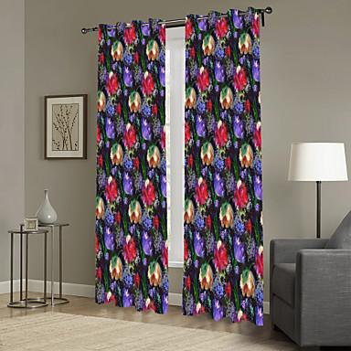 Eén paneel Window Behandeling Designer , Camouflage Woonkamer Polyester Materiaal Curtains Drapes Huisdecoratie For Venster
