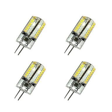 3W G4 LED лампы типа Корн T 64 SMD 3014 220-240 lm Тёплый белый / Холодный белый AC 220-240 V 4 шт.