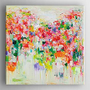 Hang malte oljemaleri Håndmalte - Abstrakt Klassisk Parfymert Lerret