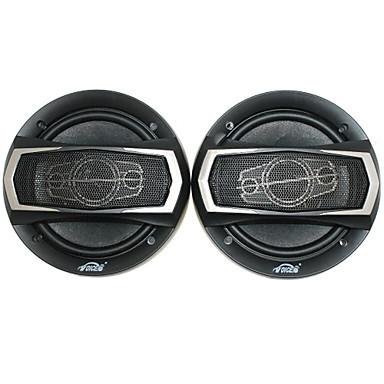 6 ιντσών ηχεία 400w αυτοκίνητο με εξαρτήματα στερέωσης, μαύρο (ζεύγος)