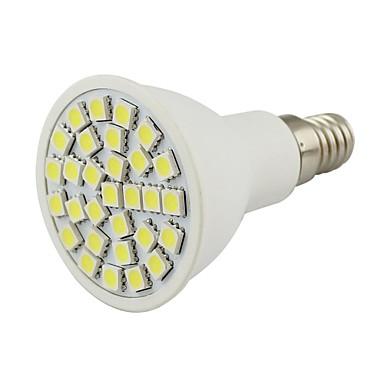 2W 450-500 lm E14 LED-spotpærer 30 leds SMD 5050 Dekorativ Varm hvit Kjølig hvit AC 110-130V DC 12 V