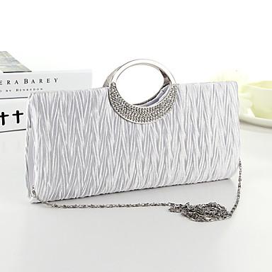női táskák selyem esti táska kristály   strasszos fehér   fekete   fukszia e826e746ed