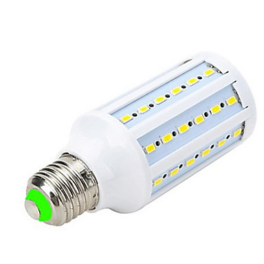 E26/E27 LED Spotlight LED Globe Bulbs LED Corn Lights T 60 leds SMD 5730 Warm White 1000-1200lm 3000-3500K AC 220-240V