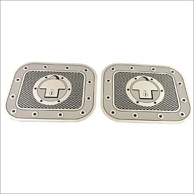 oto araba kamyon dekorasyon yapıştırıcı damalı yakıt deposu kapağı çıkartma etiket (2 adet)