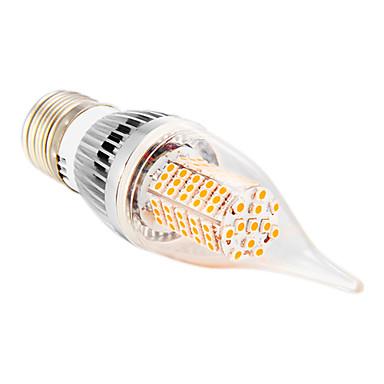 5W E14 / E26/E27 LED Λάμπες Κεριά CA35 102 SMD 2835 350 lm Θερμό Λευκό / Ψυχρό Λευκό AC 110-130 V