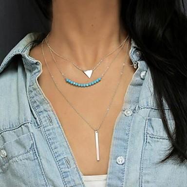 Сплав Ожерелья с подвесками - Сплав Мода европейский Ожерелье Назначение Повседневные