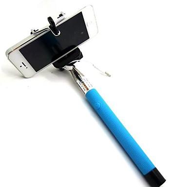 DF кабель взятие полюса выдвижной selfie ручной монопод Держатель палки для Iphone 5 / 5S / 6 (разных цветов)