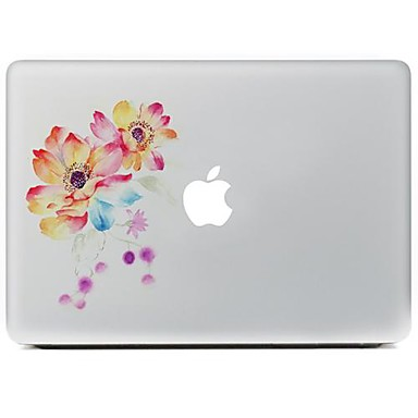 floare de design eticheta piele decorative pentru MacBook Air / Pro / Pro cu Retina Display