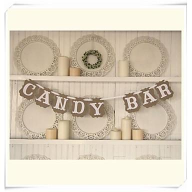 Zi de Naștere / Absolvire / Cheful Burlacelor / Bal / Petrecerea Baby Shower Hârtie Rigidă pentru Felicitări Decoratiuni nunta Temă