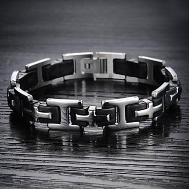 Herrn Ketten- & Glieder-Armbänder - Titanstahl Armbänder Für Weihnachts Geschenke / Hochzeit / Party