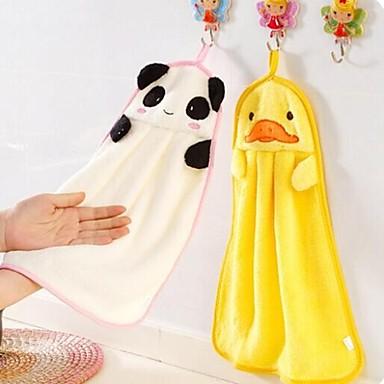 мультяшная форма многофункциональный полиэстер ручное полотенце гаджета для ванной