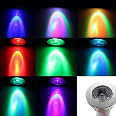E14 - 3 Színpadi LED fények ( Színváltós , Táv-irányított )